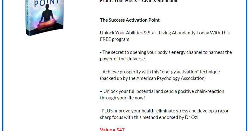 download success activation point