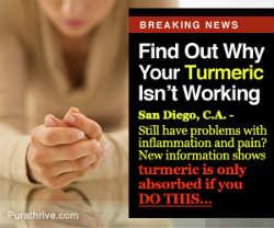 Turmeric bioavailability